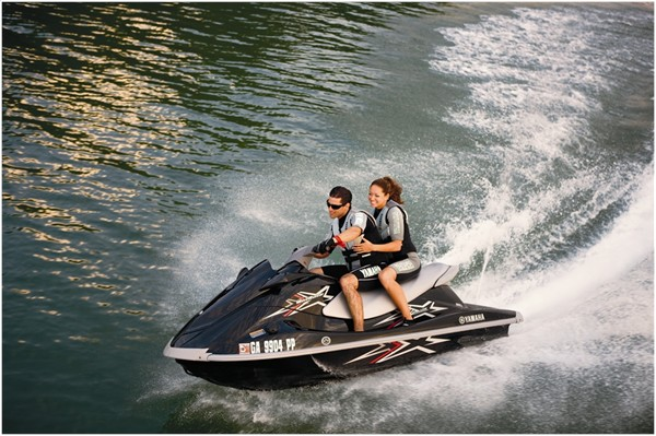 Lake Travis Jet Ski Rentals-Honda Waverunner for Rent-Texas Boat